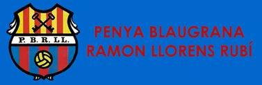 Escut Penya Blaugrana Ramon LLorens
