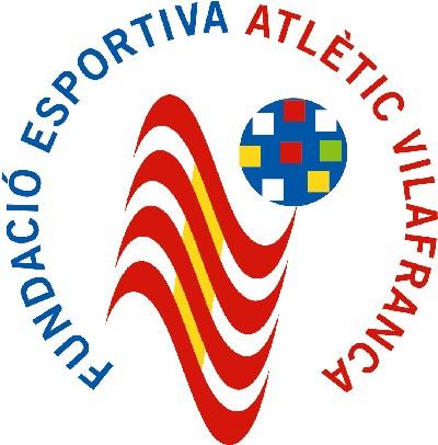 Escut Fundació P.E. Atlètic Vilafranca